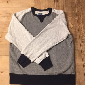 J.Crew Vintage Color Block Sweatshirt. EUC